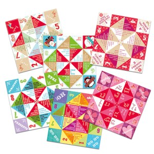 chatterboxes fortune tellers advent activity gift
