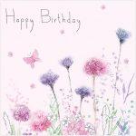 birthday cornflowers