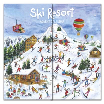 ski resort advent calendar