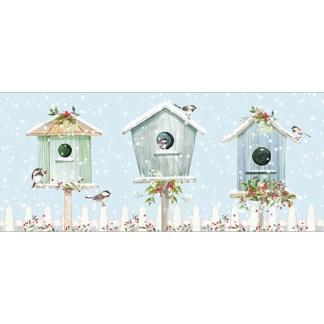 Bird Houses Christmas Cards