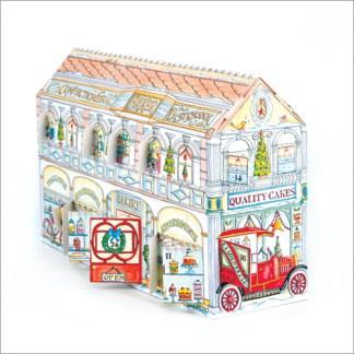 Christmas Bakery and Tea shop advent calendar