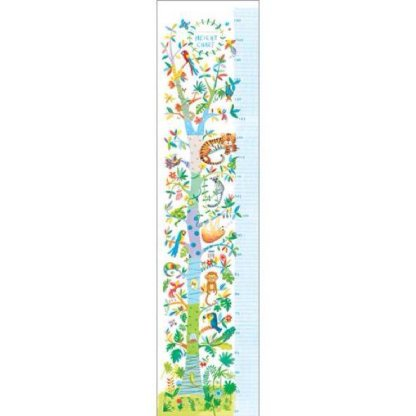 Boys Height Chart blue