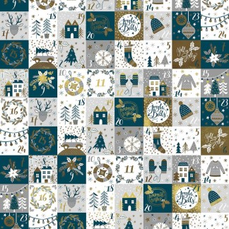 Advent gift wrap