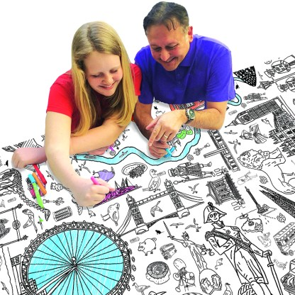 colour in london table cloth