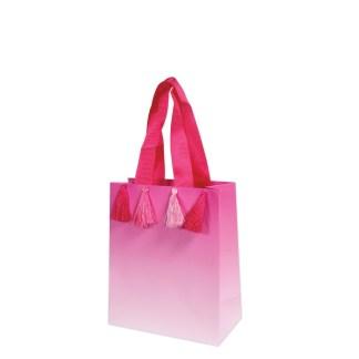 tassel pink gift bag