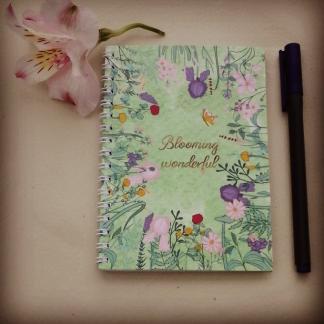 Blooming wonderful notebook