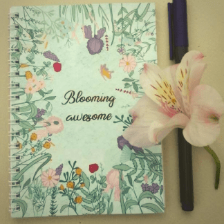 blooming awesome notebook