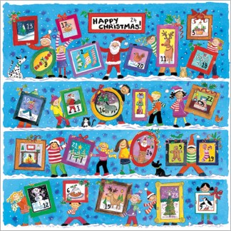 Portrait Gallery advent calendar card