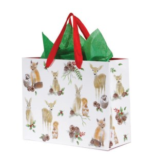 forest animals gift bag