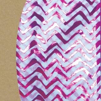 zig zag hot pink tissue