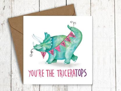 You're the Triceratops