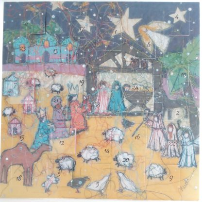 Nativity Night Advent Calendar