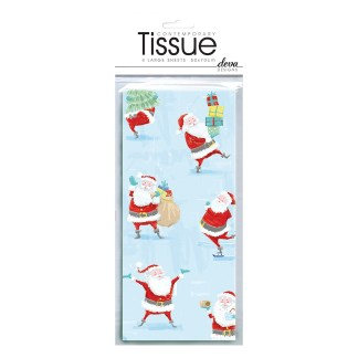 Santa Snow Fun Tissue