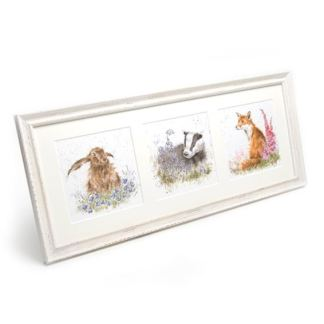 Wrendale framed prints trios