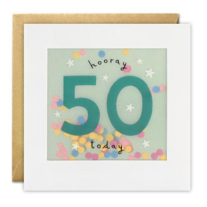 50 today shakies card