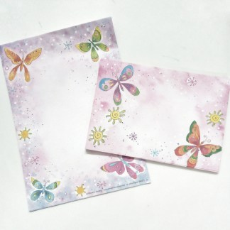 Butterfly Writing Set