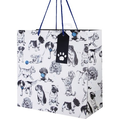 Dogs large gift bag