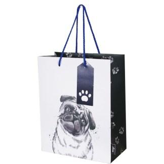 Dogs medium gift bag