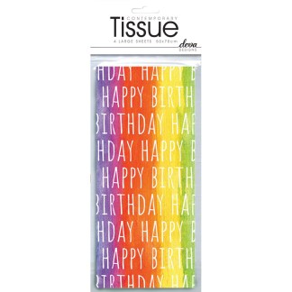 Happy Birthday Tissue