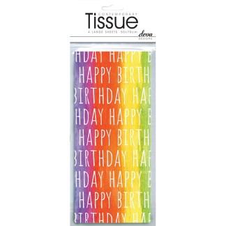 Happy Birthday Tissue