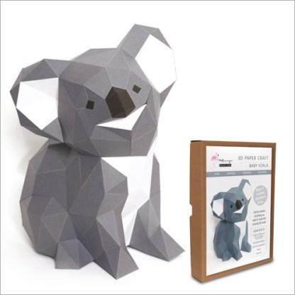koala papercraft kit