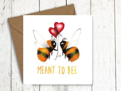 Meant to bee card