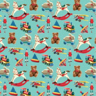 toy town gift wrap