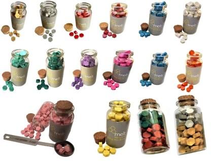 Sealing wax beads jars