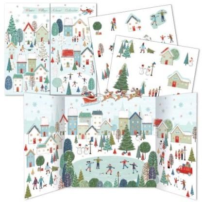 A Winter Village Advent Calendar