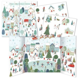 A Winter Village Advent Calendar