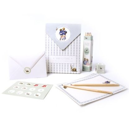Boys letter writing set