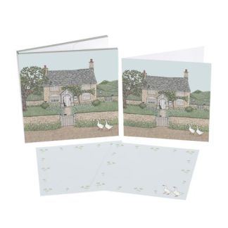 Country Cottage Notecard Set