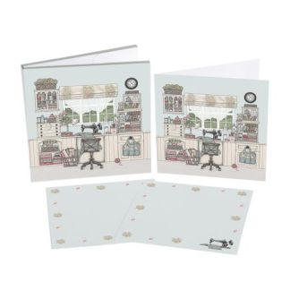 Sewing Room Notecard Set