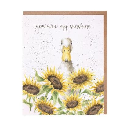 You are my Sunshine Duck card