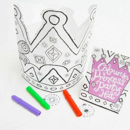 Colour in fairy crowns