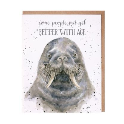 Age is just a Number walrus card