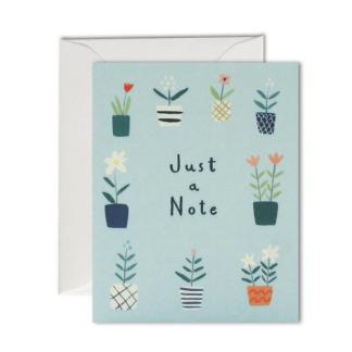 just a note pot plants notelets