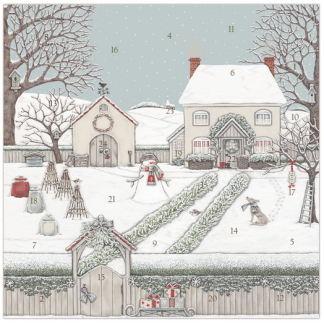 Snowy Garden advent calendar