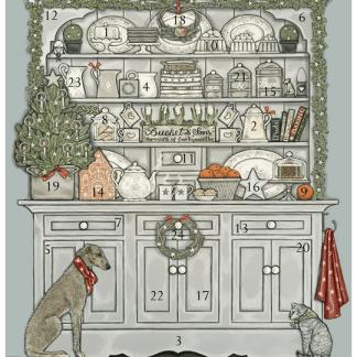 Dresser advent calendar