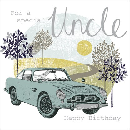 Special Uncle Birthday Card