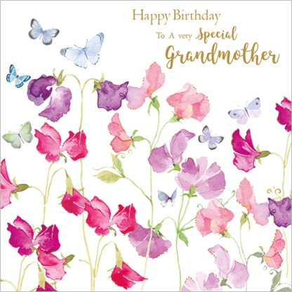 Special Grandmother Birthday Card