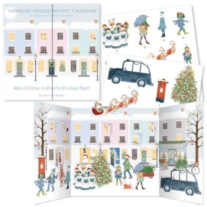 Terraced Houses Advent Calendar
