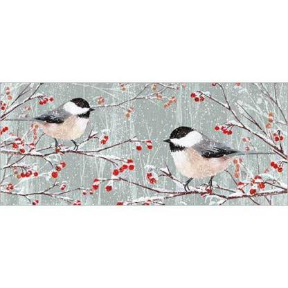Birds and Berries Christmas Cards