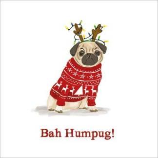 Bah Humpug Christmas Cards