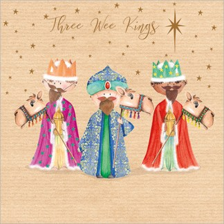 Three Wee Kings Christmas Cards