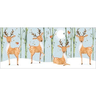 4 Reindeer Christmas Cards
