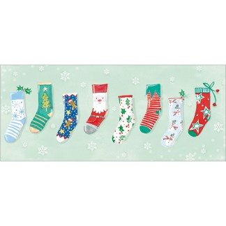 Christmas Socks Christmas Cards