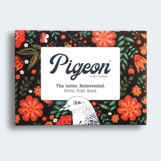 Folklore folded pigeon letters