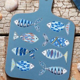 Fish pattern mini chopping board