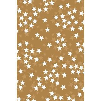 Gold Stars Roll Wrap 3m